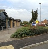 Retail park landscaping managed and  maintained by Marcus Young Landscapes Ltd